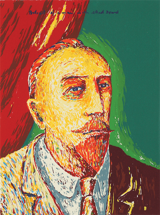 Portrait of a Man with a Red Beard